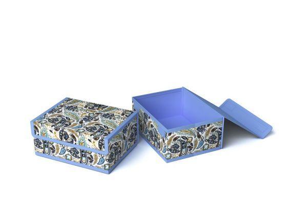 Короб для хранения (жесткий) 23х17х10см (Грация) [6045]