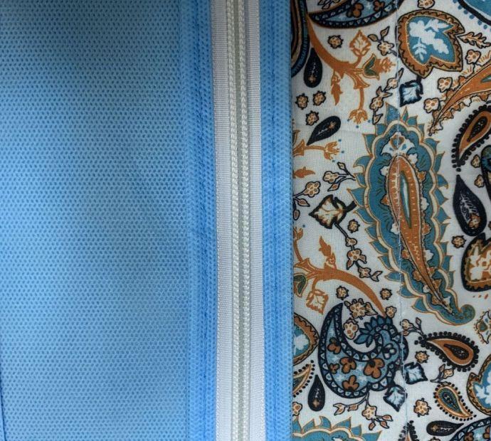 Текстура и цвет коллекции кофров грация