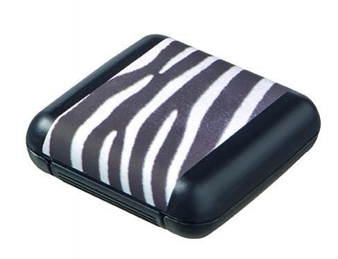 Футляр для мелочей Zebra XS (6x6x2см.) [02301-P50]